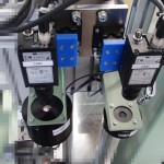 アルミ鋳造品の外観検査ステージ